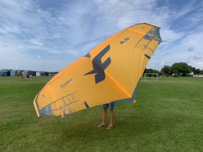 F-One Strike CWC 6m & 7m 2021 Wings Foils SUP Surf Review