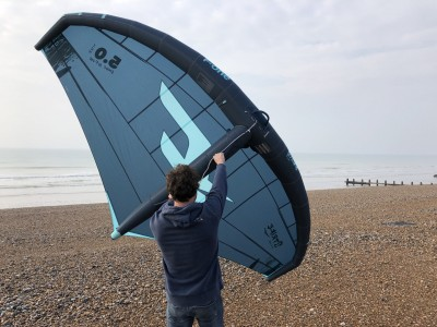 F-One Strike 5m 2021 Wings Foils SUP Surf Review