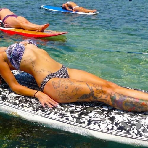 Matsyasana – Fish Pose – Intermediate Wings Foils SUP Surf Technique