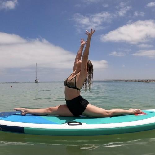 Hanumanasana/ Splits pose Wings Foils SUP Surf Technique