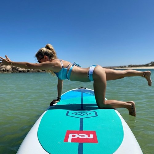 Dandayamana Bharmanasana / Balancing Table pose Wings Foils SUP Surf Technique