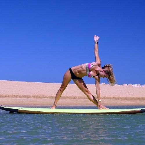 Trikonasana / Triangle Pose Wings Foils SUP Surf Technique