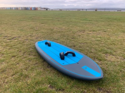 AK Durable Supply Co. Phazer 5'4 2021 Wings Foils SUP Surf Review
