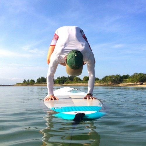 Bakasana – Crow Pose – Advanced SUP Technique